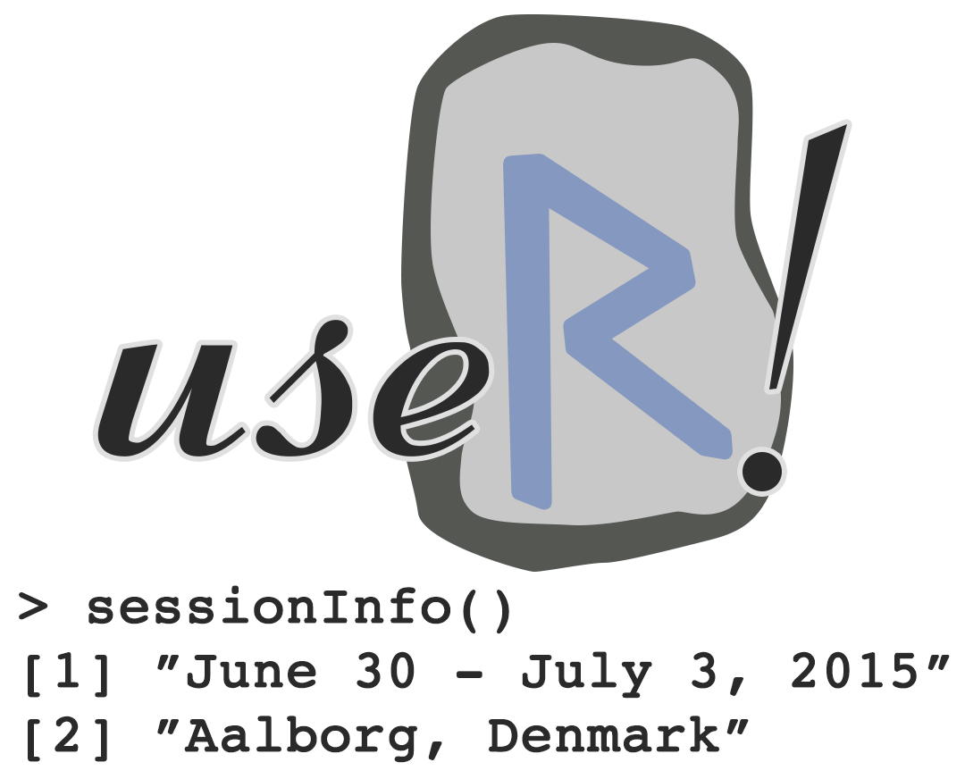 useR! logo